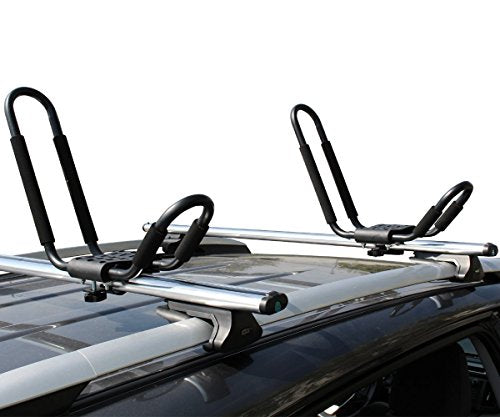 Kayak Roof Carrier >> Tms J Bar Roof Rack Hd Kayak Roof Top Mounted Carrier On Car Suv Crossbar Lifetime Warranty