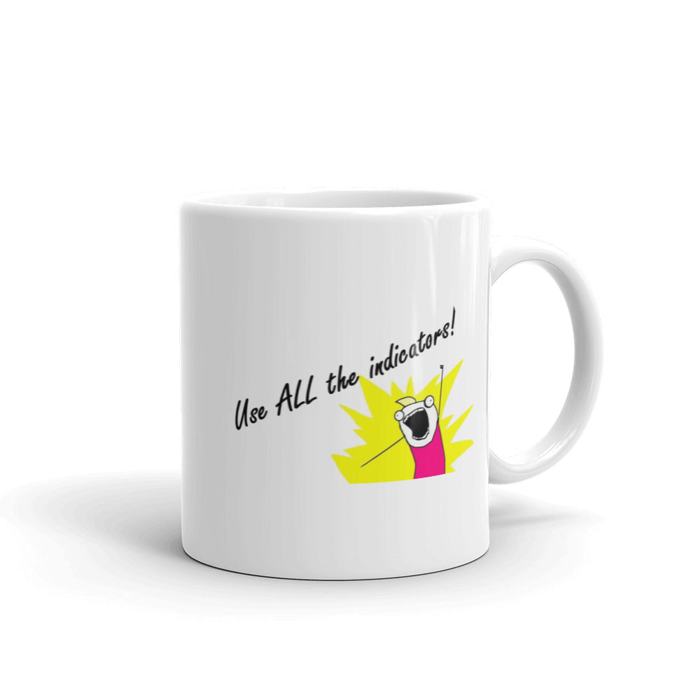 All The Indicators Meme Mug