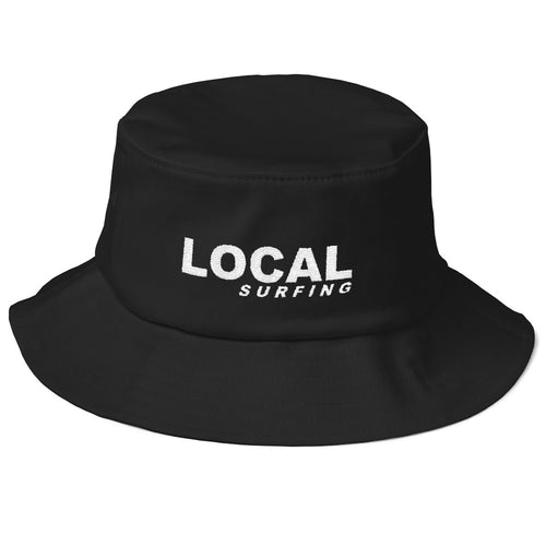 LOCAL Surfing Old School Bucket Hat