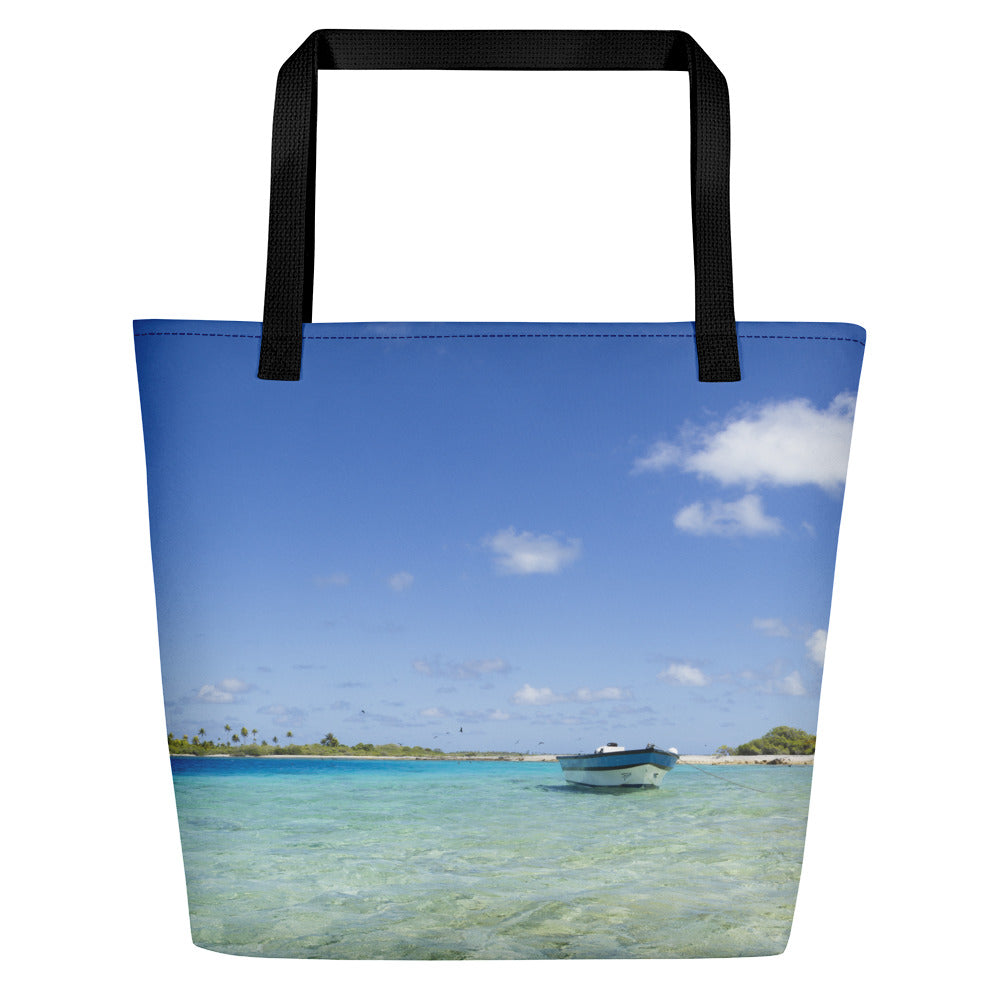 Blue Water Beach Bag