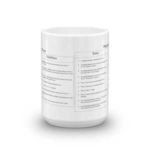 Diagonal/Impulsive Wave Rules and Guidelines mug