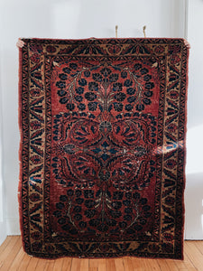 HAND KNOTTED <BR> PERSIAN RUG