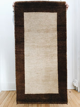 arlee park vintage hand-knoted indo-persian runner rug