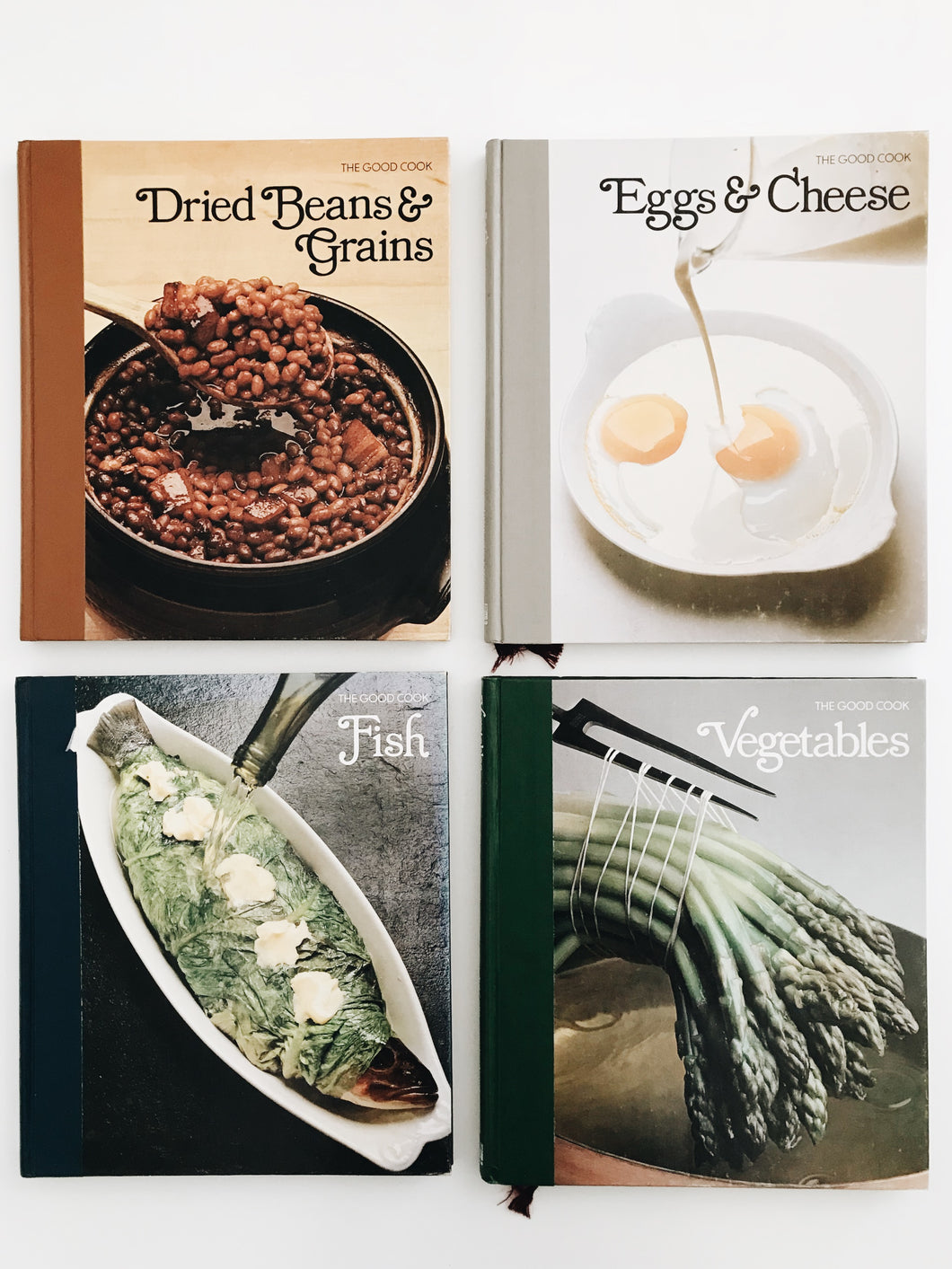 arlee park vintage the good cook books fish eggs cheese beans grains vegetables