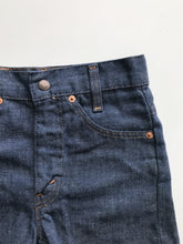 vintage kids levis soft indigo denim jean shorts