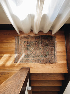 HAND-KNOTTED <BR> TURKISH RUG