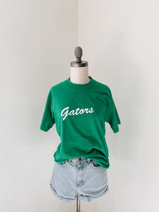 VINTAGE GATORS <BR> #22 GREEN TEE
