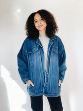 DENIM <BR> CHORE COAT