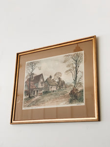 NORMANDIE <BR> FRAMED PRINT