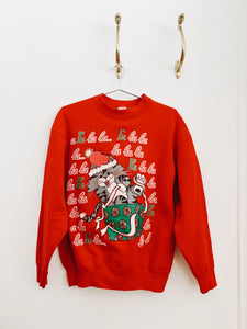 HOLIDAY KITTY <BR> SWEATSHIRT