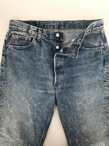 arlee park vintage faded wash levis 501 denim jeans