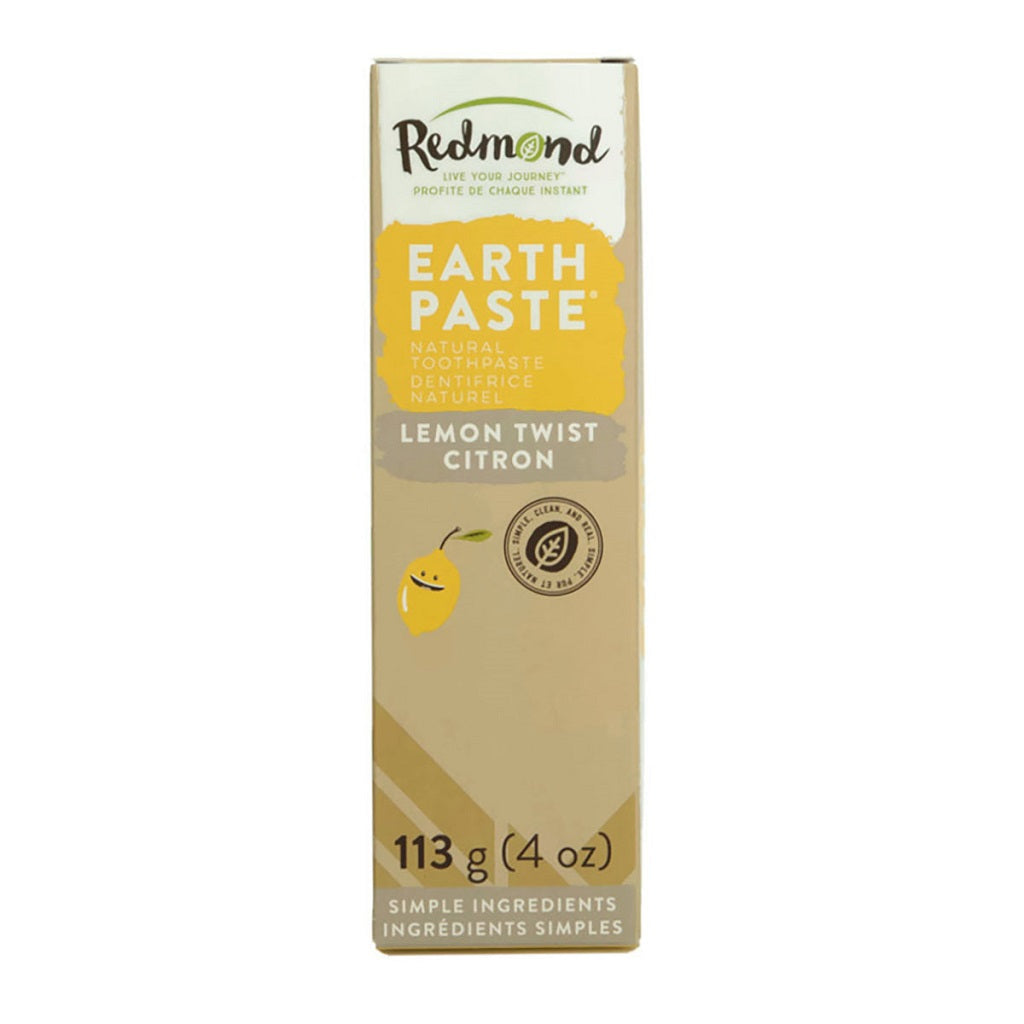 Dentifrice naturel EARTHPASTE Citron - Redmond