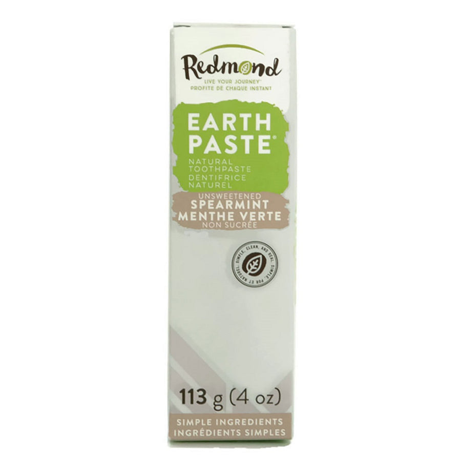 Dentifrice naturel EARTHPASTE Menthe verte - Redmond