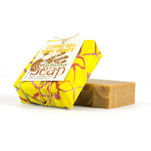 Savon LEMME BEE YOUR HONEY ultra-hydratant au miel et au citron, saponifié à froid - Ground Soap