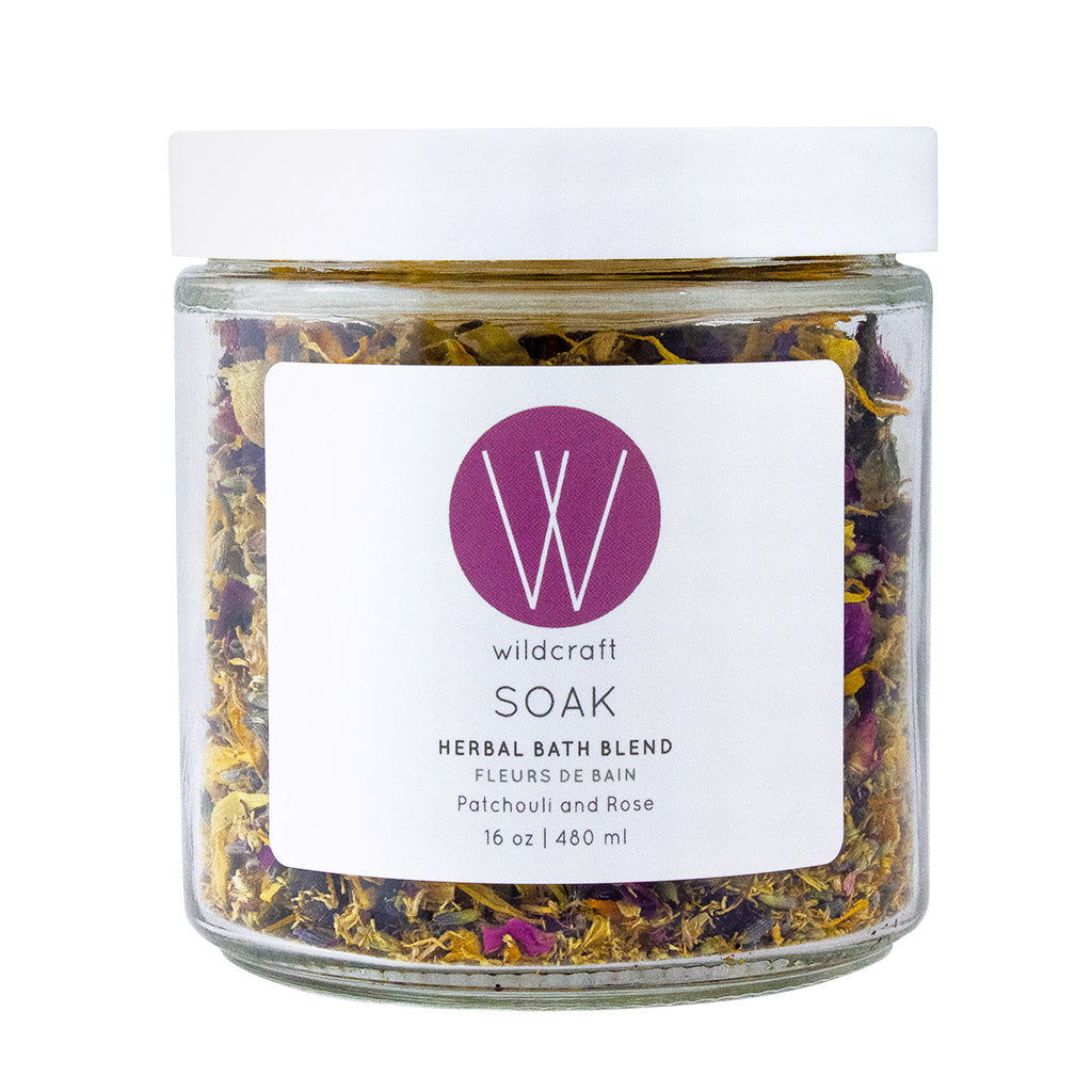 Fleurs de Bain Patchouli & Rose - Wildcraft