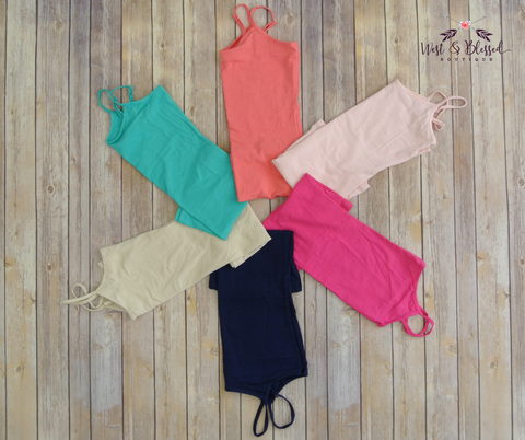 Basic Cotton Tank-Multi Colors