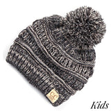 C.C Kid Multi Color Pom Beanie