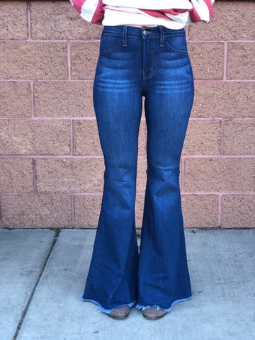 "Judy Blue ""Lemon Flare"" Jeans"