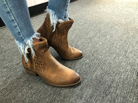 "Not Rated ""Etta"" Ankle Booties"
