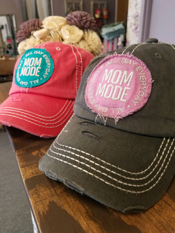 "Vintage ""Mom Mode"" Cap"