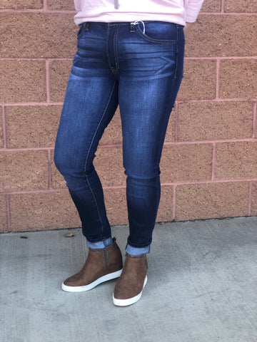 "KanCan ""Spindle"" Mid-Rise Skinny Jeans"