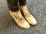 "Not Rated ""Petra"" Weaved Ankle Boot"