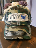 """Mom of Boys"" Vintage Cap"