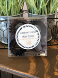 Velour Medium Hair Coils-Set of 4