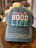 """Hood Life"" Embroidered Cap"