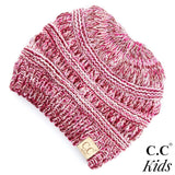 C.C Kids Multi Messy Bun Beanie