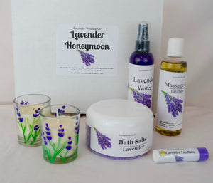 Lavender Gifts - The Honeymoon Set - Lavender Wedding Co