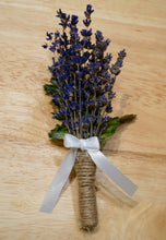 Groom - Lavender Boutoniere - Bold, Full of Color, Stunning - Lavender Wedding Co