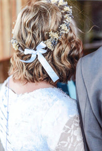 Dried Lavender Flower Crowns - Lavender Wedding Co