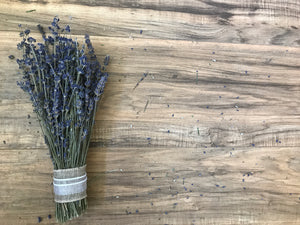 Lavender Wedding Toss Bouquets- Dried, Deep Color, Beautiful & Fragrant - Lavender Wedding Co