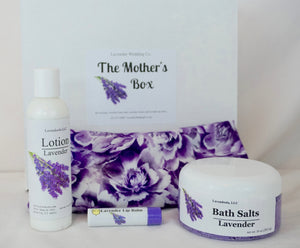 Lavender Gifts - The Mother's Pamper Box - Lavender Wedding Co
