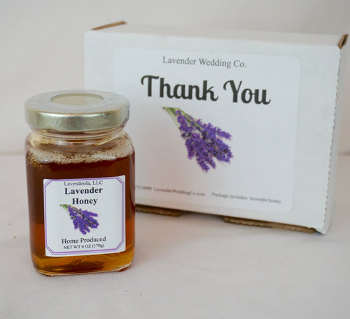 Lavender Gifts -  the Thank You Box - Lavender Wedding Co