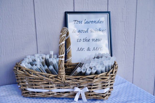 Lavender Wedding Tosses - Set of 100 - Lavender Wedding Co