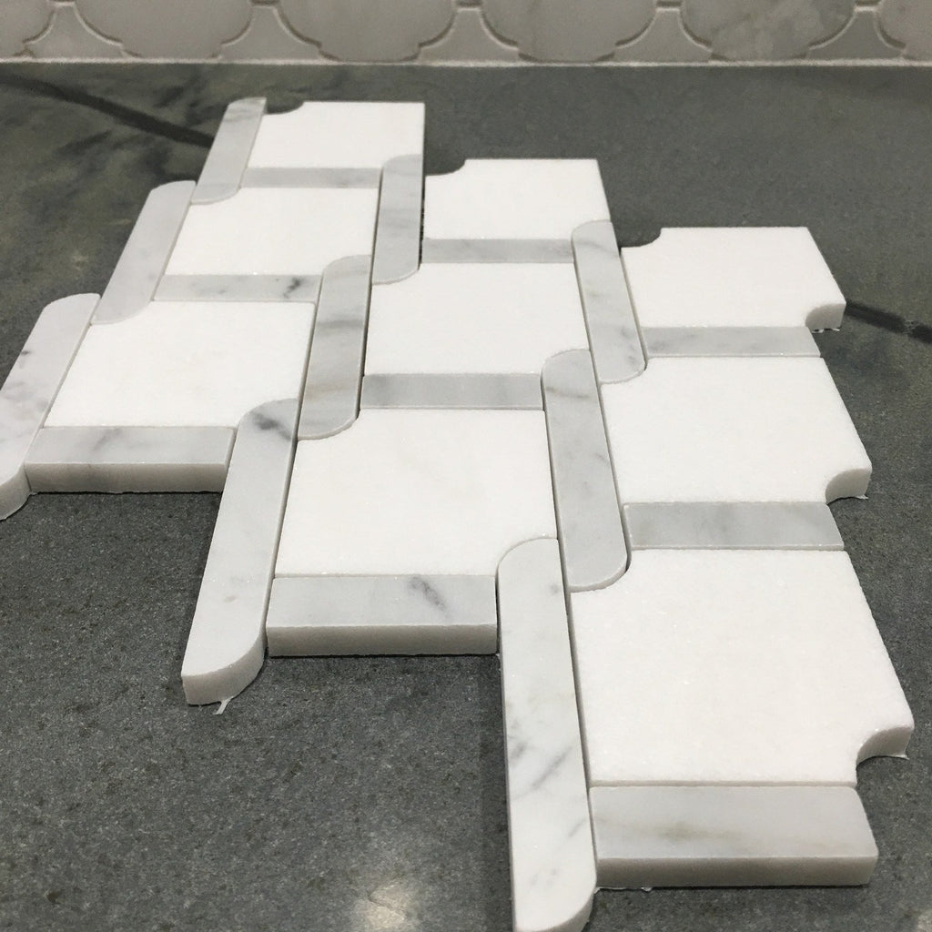 Trellis_Weave_Polished_Thassos_White_Carrara_Marble_Waterjet_Mosaic_Tile_Buys_00001