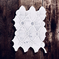 Bellagio_Polished_Carrara_White_Thassos_Marble_Waterjet_Mosaic_Tile_Buys_Barnwood_05
