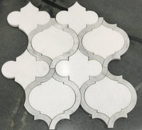 Marrakech_Arabesque_Thassos_White_Carrara_Marble_Waterjet_Mosaic_Tile_Buys_90210