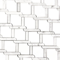 Trellis_Weave_Polished_Thassos_White_Carrara_Marble_Waterjet_Mosaic_Tile_Buys_01