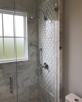 Marrakech_Arabesque_Thassos_White_Carrara_Marble_Waterjet_Mosaic_Tile_Buys_Shower_wall_01