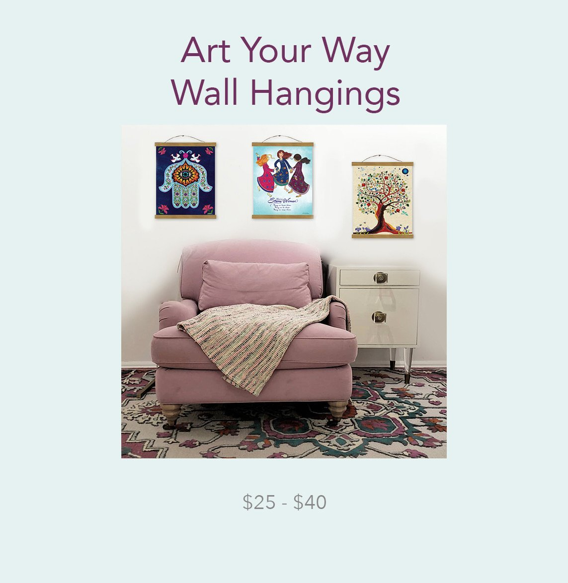 Art Your Way Wall Hangings