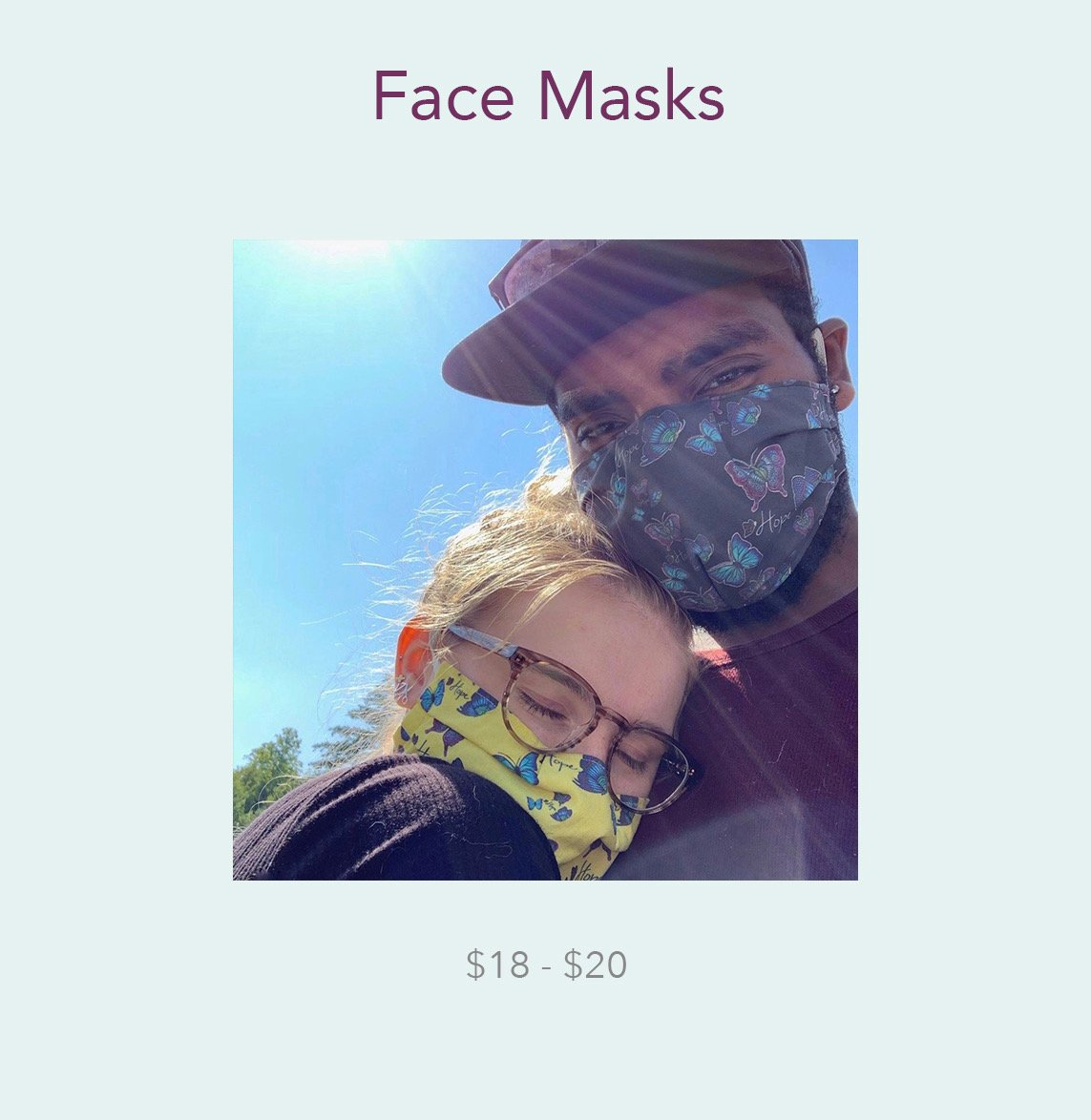 Face Masks - Ships in less than 1 week!!