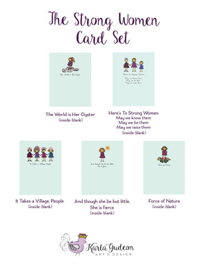 Strong Women Card Set