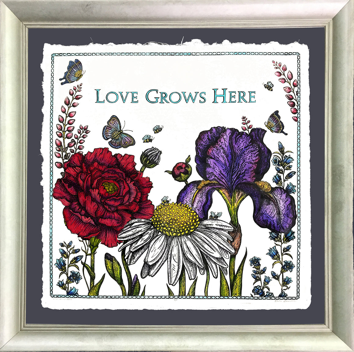 Love Grows Here - Large