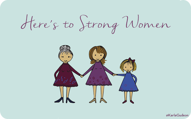 Here's To Strong Women Gift Card