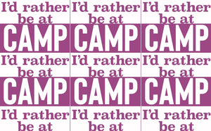 Camp - 3 Colors Available