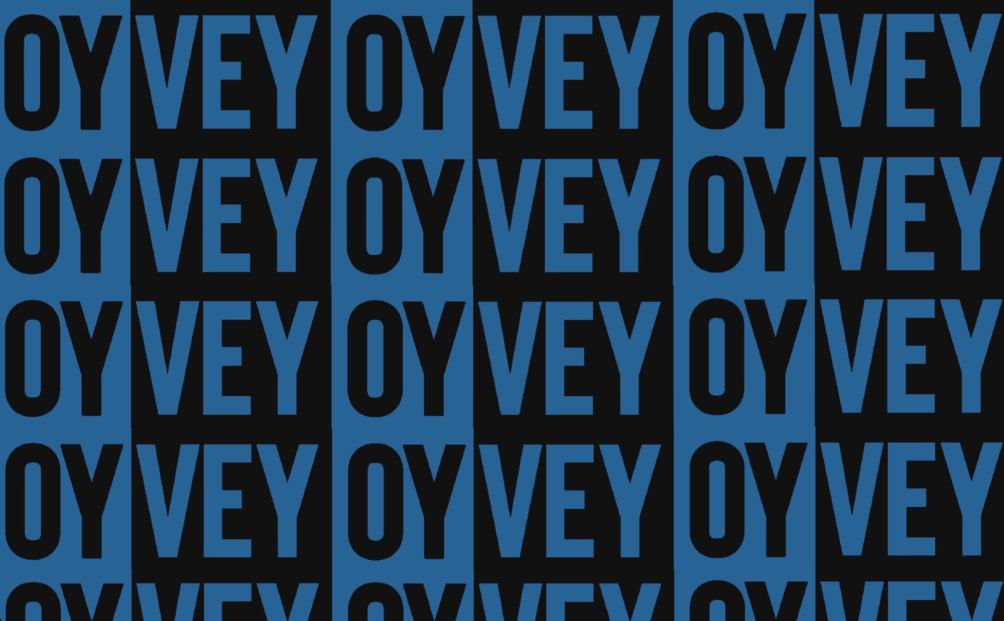 Oy Vey - Black & Blue