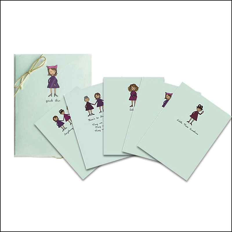 Naughty Feminist Card Set